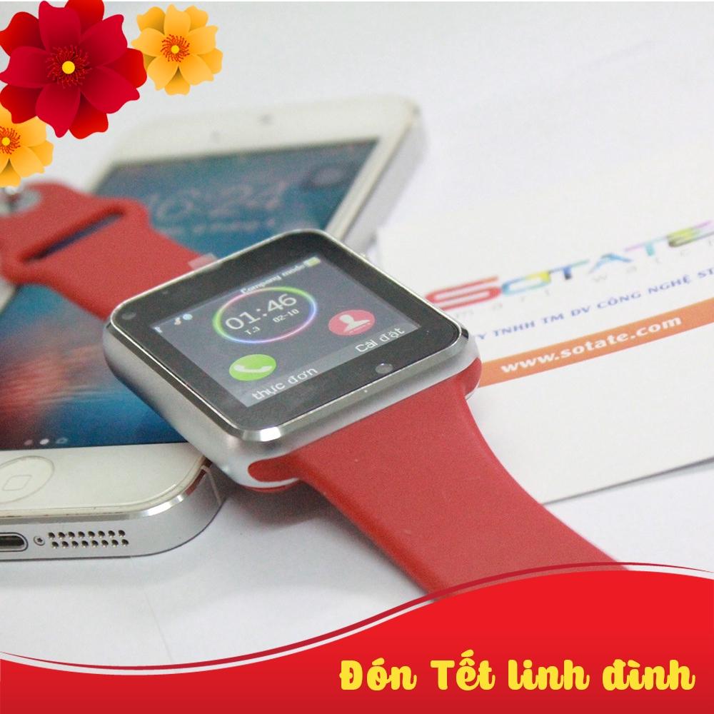 [Chính Hãng] Đồng hồ thông minh smartwatch A1 Màu đỏ hỗ trợ sim và thẻ nhớ - 21604966 , 1495464301 , 322_1495464301 , 215714 , Chinh-Hang-Dong-ho-thong-minh-smartwatch-A1-Mau-do-ho-tro-sim-va-the-nho-322_1495464301 , shopee.vn , [Chính Hãng] Đồng hồ thông minh smartwatch A1 Màu đỏ hỗ trợ sim và thẻ nhớ