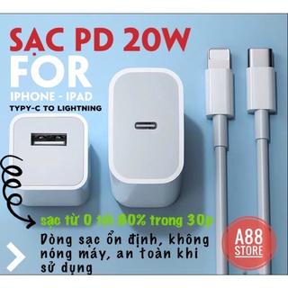 Sạc nhanh iphone PD 20w, Sạc nhanh iphone ipad không nóng máy