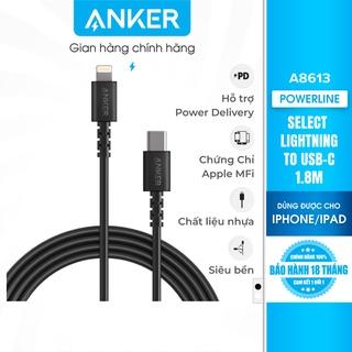 Cáp sạc ANKER Select Lightning to USB-C dài 1.8m - A8613 thumbnail