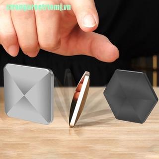 【stj】Stainless Flip Spinner Fidget Spinner Antistress Fingears Mini Metal Desk