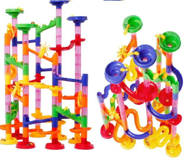 Đồ chơi lắp ráp mê cung thả bi. 105 chi tiết