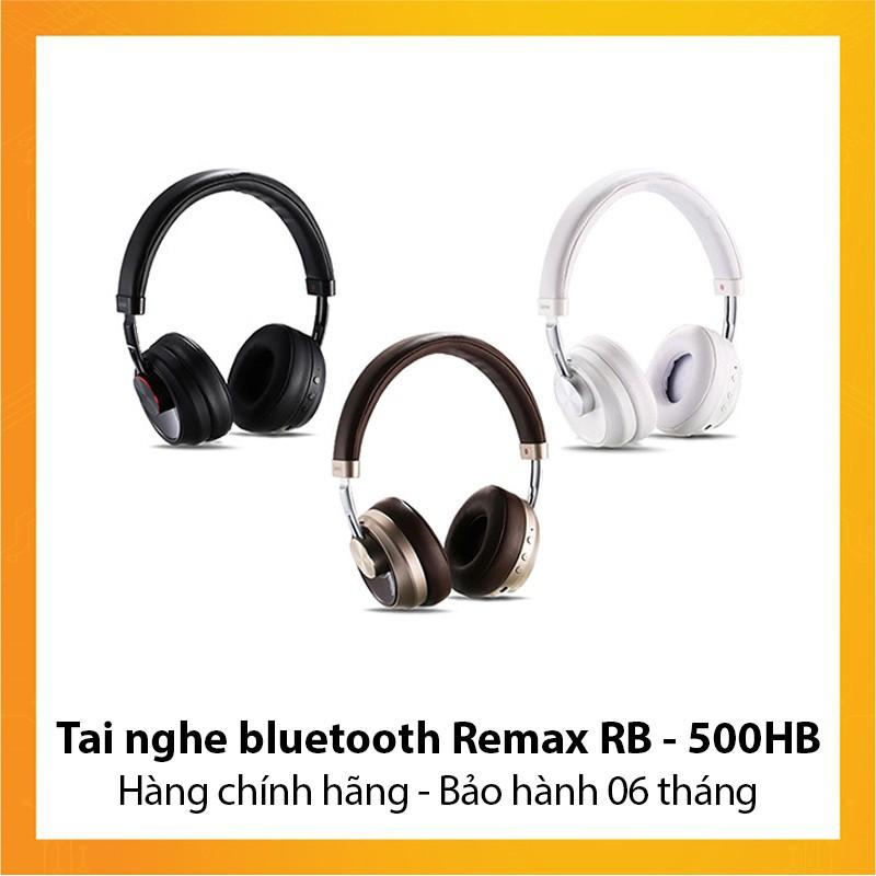 Tai nghe bluetooth Remax RB - 500HB - Hàng chính hãng - Bảo hành 6 tháng