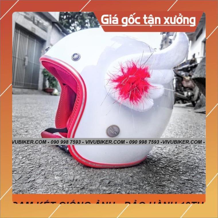 [Giống ảnh] Cánh thiên thần FungFing Cupid màu tím gắn nón bảo hiểm siêu dễ thương - Phụ kiện Fung Fing Thái Lan - Cupid