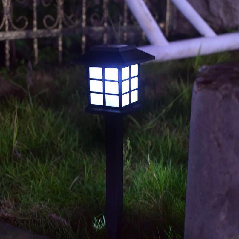 Đèn sân vườn năng lượng mặt trời đèn trang trí sân vườn cầu thang 3000k