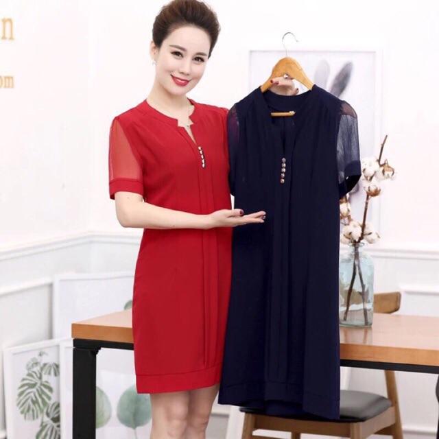 Váy ren nữ trung niên quảng châu