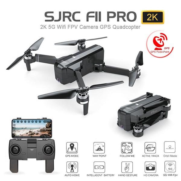 Flycam Drone SJRC F11 PRO GPS WIFI 5G UHD 2K, Làm Chủ Bầu Trời - Giá Hời Không Tưởng