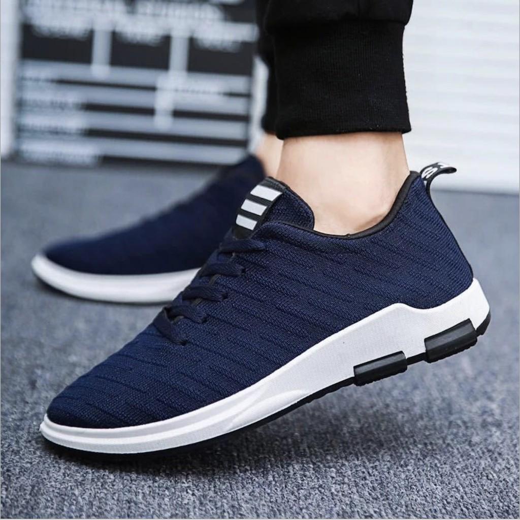 [Có hộp] Giày nam vải xước Fashion