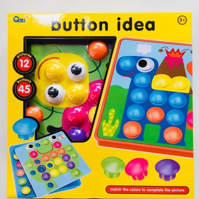 Hộp Chơi Button idea