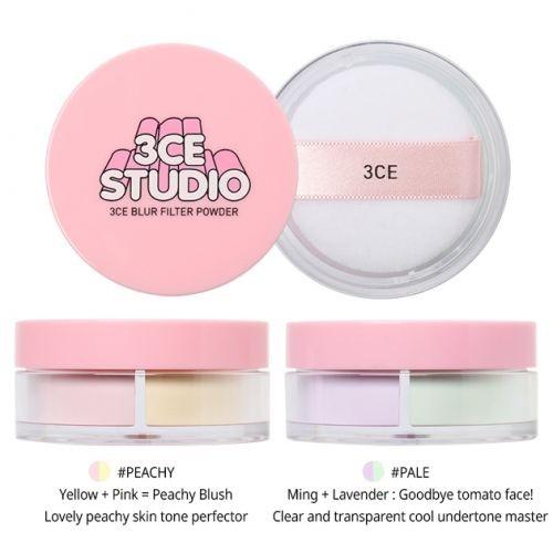 Phấn Phủ 3CE Studio Blur Filter Powder