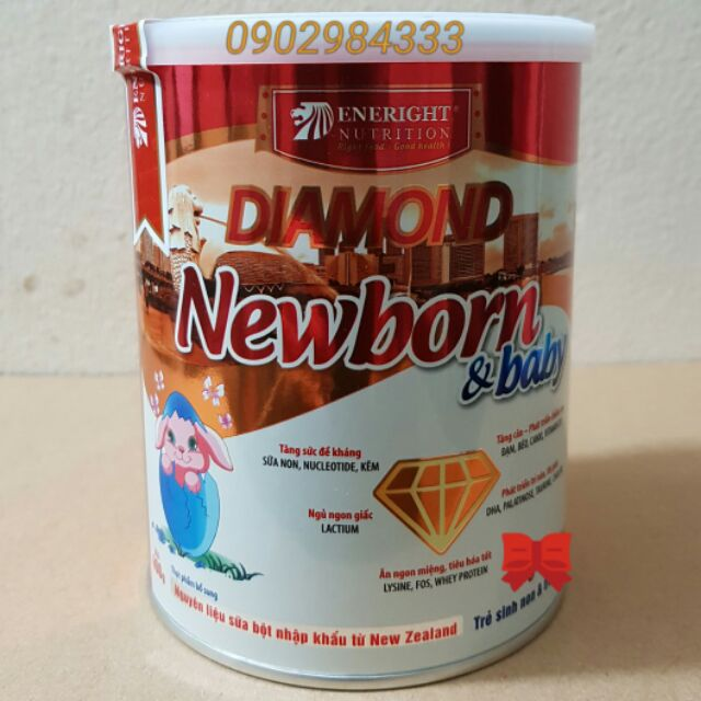 sữa diamond newbon baby 400 gam