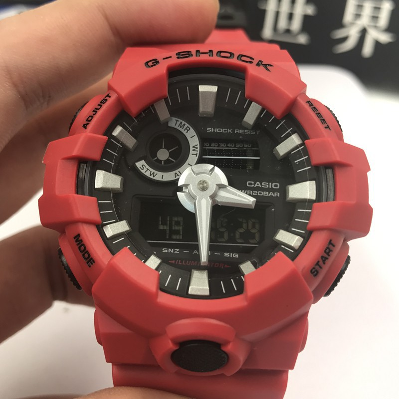 Original Casio Watch g-shock Quartz Wrist GA-700 Men Women Sports Watch