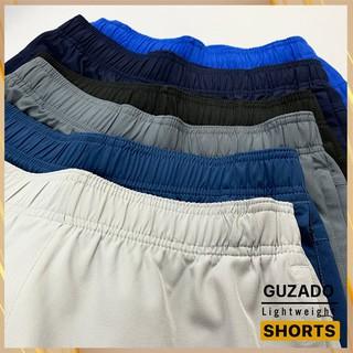 Hình ảnh Quần đùi nam Guzado phong cách thể thao khỏe khoắn, chất gió mềm siêu mịn, co giãn tốt, vận động thoải mái GSR01-3