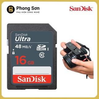 Thẻ nhớ SDHC 16GB Ultra 320x 48mb s Sandisk thumbnail