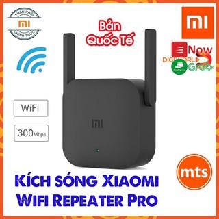 Kích sóng Wifi Xiaomi Repeater PRO băng thông 300 Mbps -DC3030 Chính Hãng