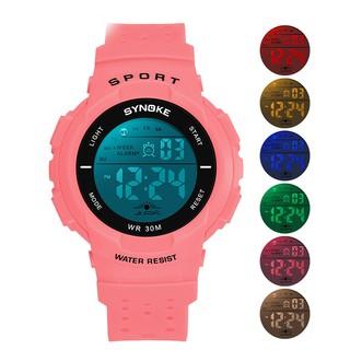 Đồng hồ trẻ em Synoke 9617 thể thao thời trang cho bé gái