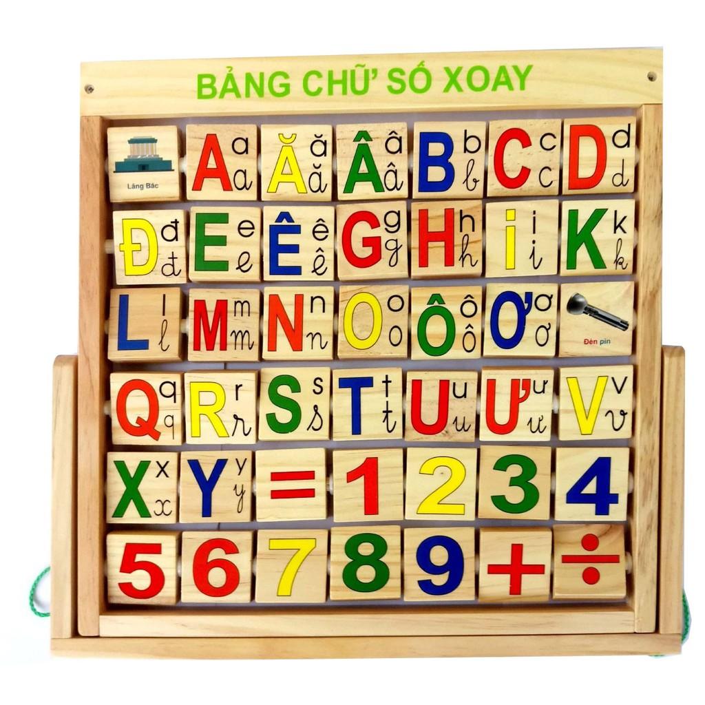 Bảng xoay tiếng việt chữ số chữ cái cho bé - 2713547 , 898608188 , 322_898608188 , 185000 , Bang-xoay-tieng-viet-chu-so-chu-cai-cho-be-322_898608188 , shopee.vn , Bảng xoay tiếng việt chữ số chữ cái cho bé