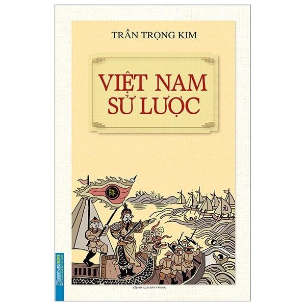 Sách: Việt Nam sử lược (bìa mềm)-tái bản