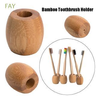 Giá gỗ tre đựng bàn chải đánh răng thân thiện môi trường thumbnail