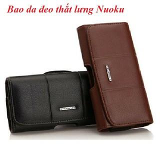 Bao da đeo thắt lưng Hiệu Nuoku cho điện thoại dưới 7 inch thumbnail