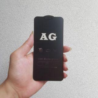 Xiaomi Mi8 Lite | Kính cường lực nhám full màn full keo chống bám vân tay