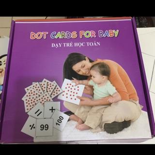 Bộ thẻ dạy học toán cho bé