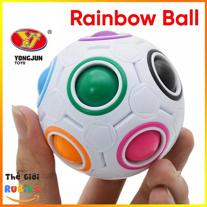 Đồ Chơi Rubik Biến Thể YJ Magic Rainbow Ball Rubic Cube