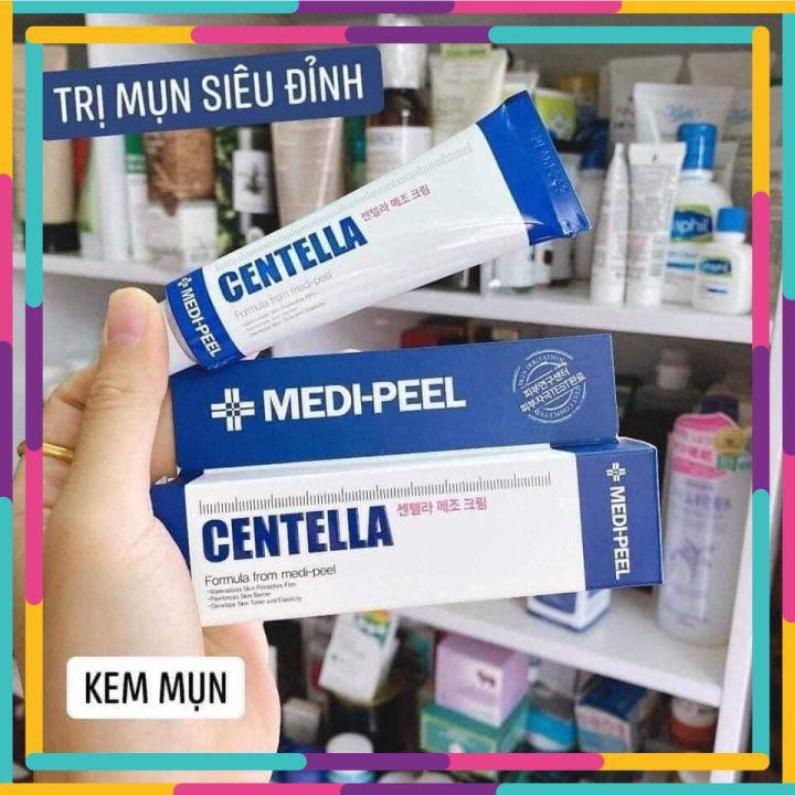 Kem Ngừa Mụn , Mờ Thâm Medi-Peel Centella Mezzo Cream 30ml [ CHÍNH - HÃNG ]