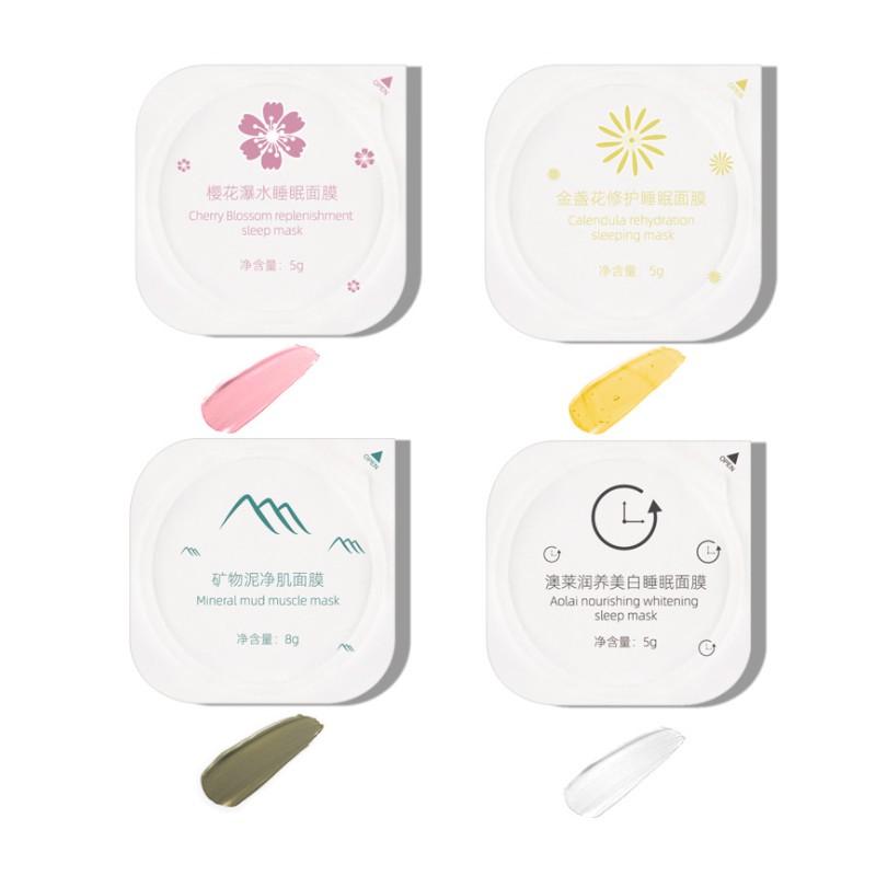 Sakura Minerals Face Mask Deep Cleansing Moisturizing 5g