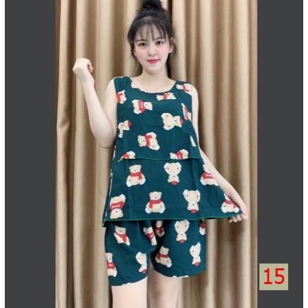 Mặc gì đẹp: Gọn tiện với Bộ đồ bầu LANH LỬNG 2 TẦNG hàng đẹp form rộng thoải mái_ siêu xinh mặc ở nhà