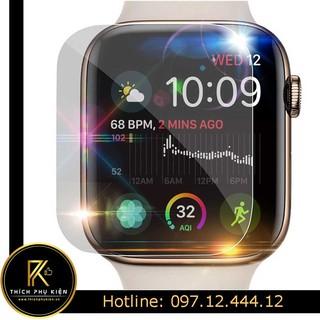 [Mã ELORDER5 giảm 10k đơn 20k] PPF - Miếng dán màn hình Apple Watch Series 1-2-3-4-5 tự phục hồi vết xước