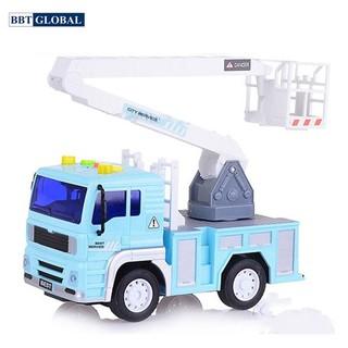 Mô hình đồ chơi xe cứu hộ có đèn và nhạc mẫu mới WY530