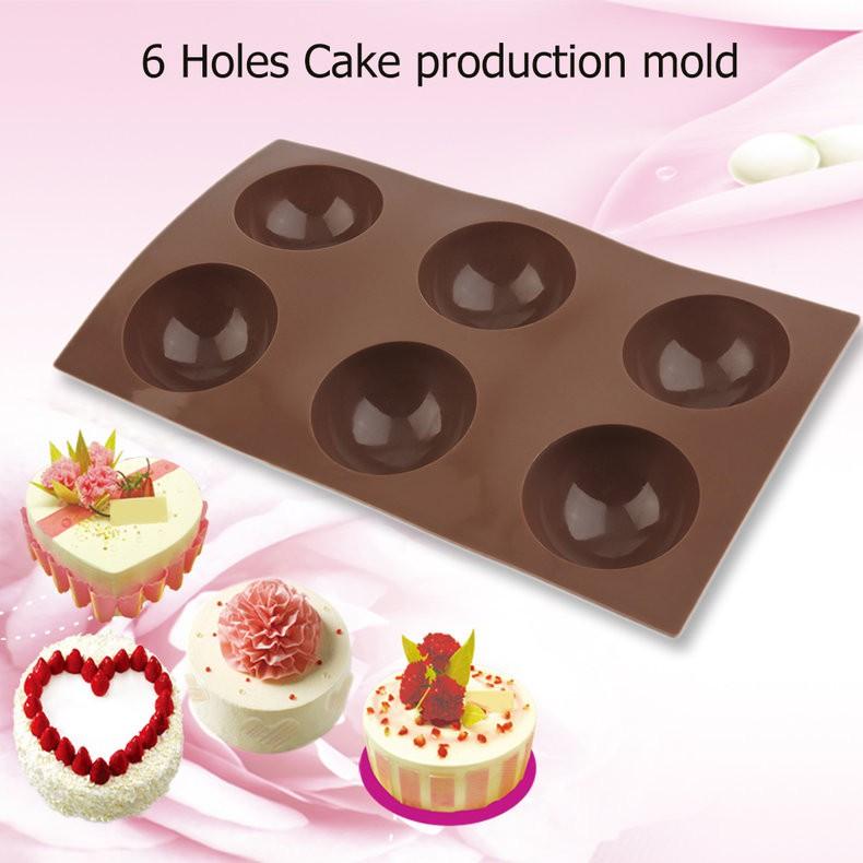 Khuôn làm bánh silicone 6 lỗ hình bán cầu cho bánh Muffin/ bánh kếp/ Pudding - 14394567 , 1350983691 , 322_1350983691 , 34000 , Khuon-lam-banh-silicone-6-lo-hinh-ban-cau-cho-banh-Muffin-banh-kep-Pudding-322_1350983691 , shopee.vn , Khuôn làm bánh silicone 6 lỗ hình bán cầu cho bánh Muffin/ bánh kếp/ Pudding