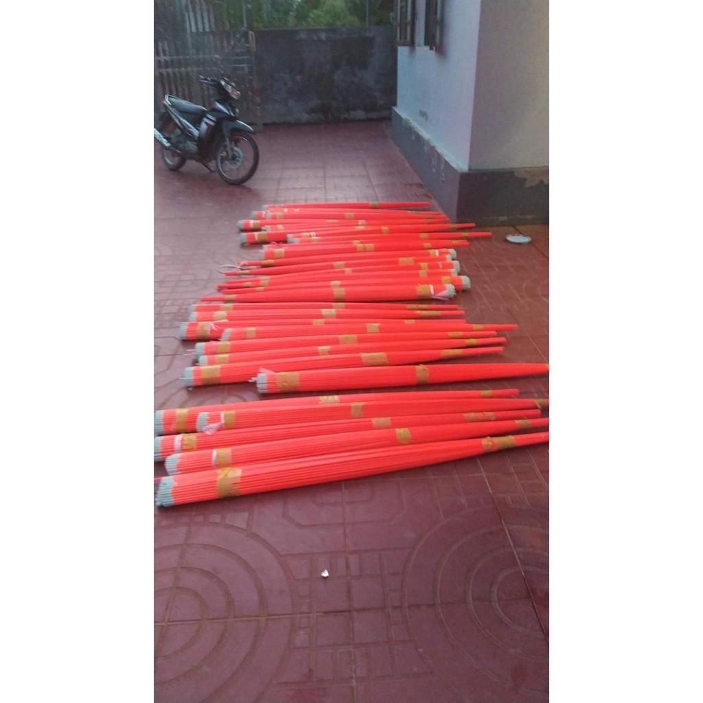 thuỷ tinh - ngon can cau 1,8m - 1,5m & 1,4m ( 8 - 9li - làm diều sáo