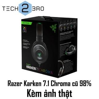 CHÍNH HÃNG RAZER – Tai nghe Razer Kraken 7.1 Chroma