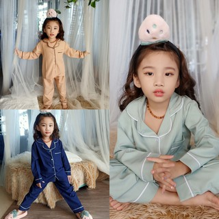 đồ bộ pijama cho bé , set bộ mặc nhà siêu xinh cho bé trai và bé gái từ 5 tuổi đến 14 tuổi M022