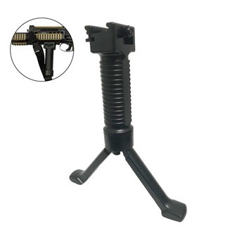 💞BULA Black handle / Bipod for gel ball Blasters scar, M4a1