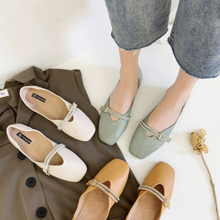 Giày Lười Đế Mềm Cho Nữ