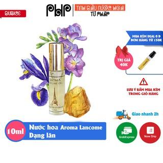 Tinh dầu nước hoa Pháp Aroma, dạng lăn mini 10ml, gồm 14 mùi nước hoa nam nữ thumbnail