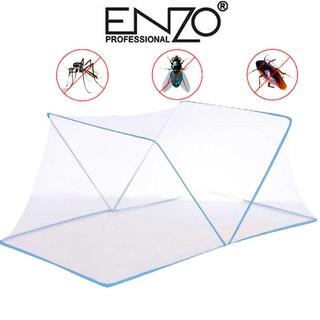 Màn Chụp Chống Muỗi Cao Cấp 1m6 – 1m8 Gập Gọn Tiện Lợi – Mùng Ngủ Màn Ngủ Gia Đình Vải Dày Phù Hợp Cho Người Lớn, Trẻ Em