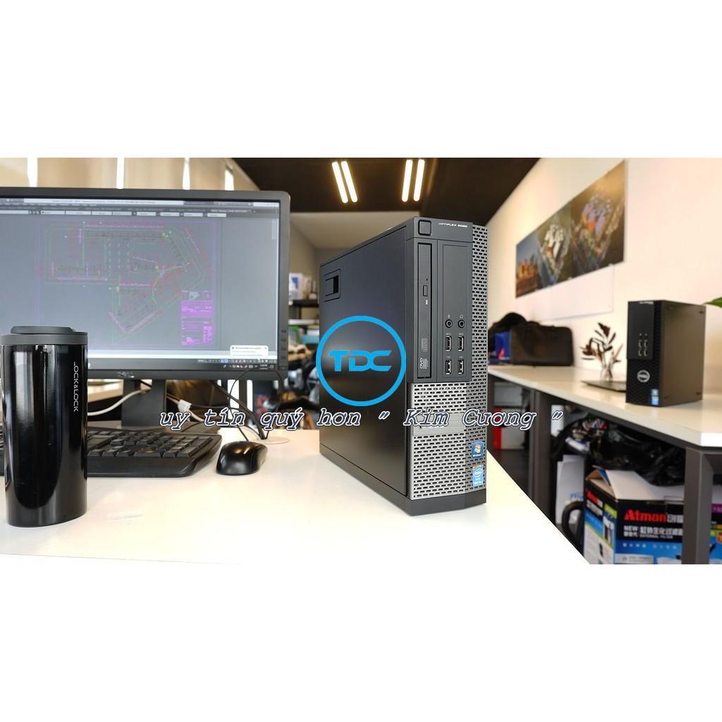 Bộ máy tính để bàn DELL Optiplex 7010 Core i7 3770, Ram 8GB, SSD 240GB, Màn 19 inch, Bàn phím chuột DELL. Hàng Nhập Khẩu