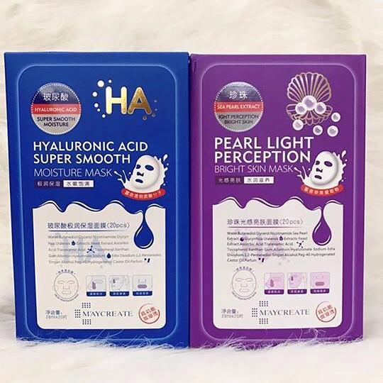 Hộp 20 miếng Mặt nạ HA MayCreate Xanh và Tím [mask HA] nội địa Trung - 3579212 , 1015254246 , 322_1015254246 , 120000 , Hop-20-mieng-Mat-na-HA-MayCreate-Xanh-va-Tim-mask-HA-noi-dia-Trung-322_1015254246 , shopee.vn , Hộp 20 miếng Mặt nạ HA MayCreate Xanh và Tím [mask HA] nội địa Trung