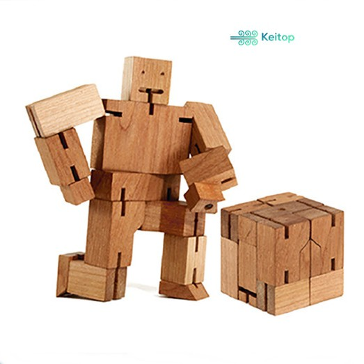 Đồ Chơi Robot Người Máy Gỗ KEITOP ROBOT-002