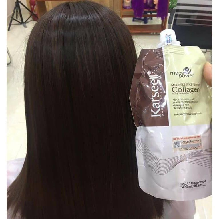 Dầu ủ hấp tóc Collagen 500ml - Kem hấp dầu siêu mềm mượt Karseell