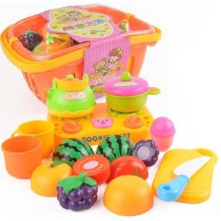 Bộ đồ chơi nhận biết rau củ quả cho bé
