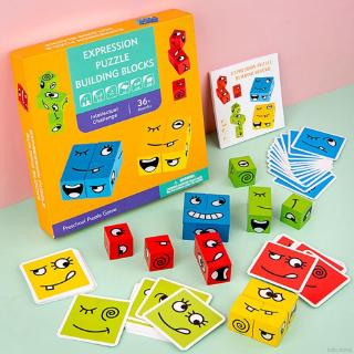 Kids Early Education Logic Training Thinking Challenge Level Board Game Toys