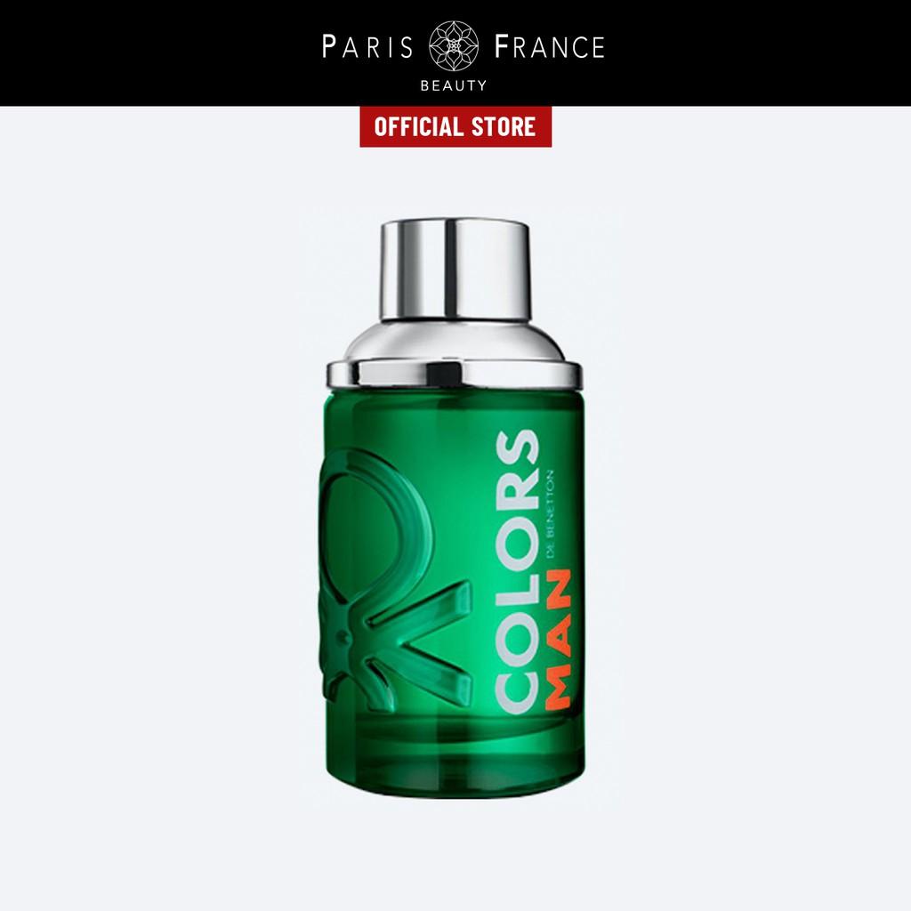 Paris France Beauty - Nước Hoa Nam United Color Of Benetton Colors Man Green 100ml