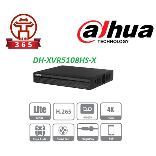 Đầu ghi 8 kênh Dahua DH-XVR5108HS-X -- Chính hãng, giá rẻ, bảo hành 24 tháng toàn quốc