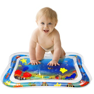 Inflatable Baby Water Mat, Toddlers is The Perfect Fun time Play