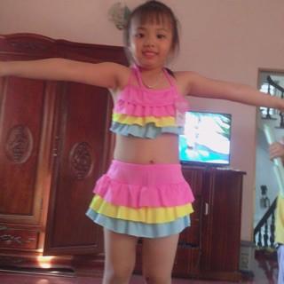 Bộ đồ bơi cho bé từ 4-7 tuổi (tối đa 23kg) phối màu Boi24