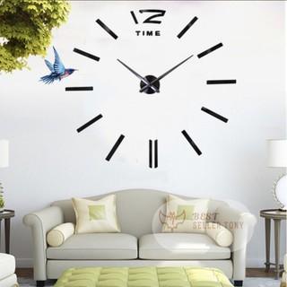 Đồng hồ dán tường Clock Euro khuôn mẫu dán cực chuẩn